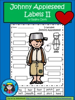 A+ Johnny Appleseed  Labels II