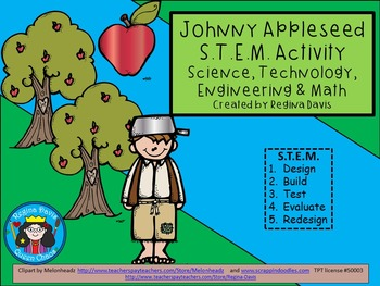 A+ STEM Johnny Appleseed...Science, Technology, Engineering & Math