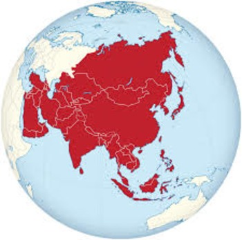 A Journey Through Asia Web quest and Packet