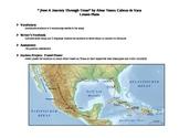 """""""A Journey Through Texas"""" by de Vaca Lesson Plan"""