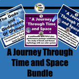 Space and Greek and Roman Mythology scripts and activities bundle