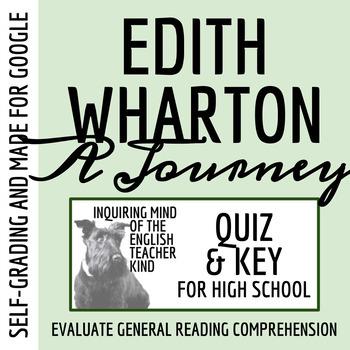 """""""A Journey"""" by Edith Wharton - Quiz & Key"""