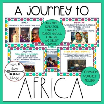 A Journey to Africa: A Presentation