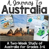 A Journey to Australia: A Study of World Communities and Culture: Grades 3-4