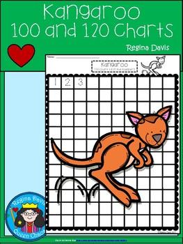 A+ Kangaroo: Numbers 100 and 120 Chart