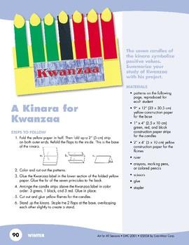 A Kinara for Kwanzaa: Art Project