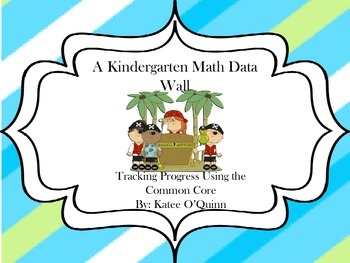 A Kindergarten Data Wall: Tracking Common Core Math