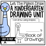 Kindergarten Drawing Unit and Mo Willems Author Study
