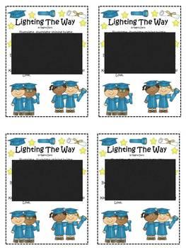 A+  Kindergarten Graduation Flashlight Poem