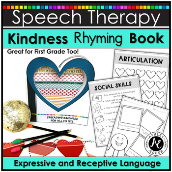 A Kindness Activities Rhyming Book