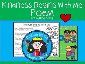 A+ Kindness Begins With Me Poem