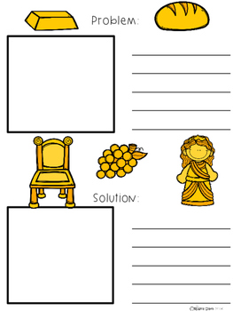 A+ King Midas And The Golden Touch: Story Maps