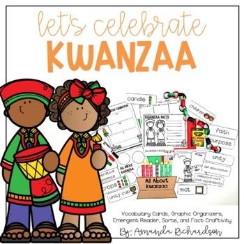 Kwanzaa Activities: Graphic Organizers, Mini-Book, and Craft