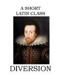 A LATIN CLASS DIVERSION - Shakespeare's Pyramus & Thisbe S