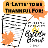 THANKSGIVING Writing Craft and Bulletin Board Display