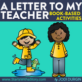 A LETTER TO MY TEACHER Activities and Read Aloud Lessons f