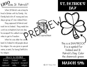 A LITTLE BUNDLE: ST. PATRICK'S DAY