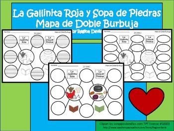 A+ La Gallinita Roja y La Sopa de Piedra:  Mapa de Doble Burbuja