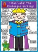 A+ Labeling Poster: I Can Label The Kindergarten King!