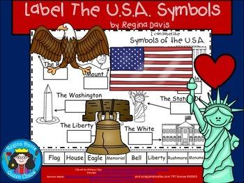 A+ Labels For U.S.A. Symbols