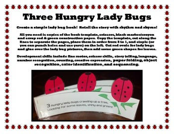 A+ Lady Bug Rhyming Book - Great for Early Childhood!