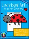 A+ Ladybug Art: Directed Drawing