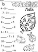 A+ Ladybug: Math... Addition and Subtraction Differentiated  Practice