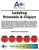 A+ Ladybug Printable & Clipart - Early Math Resource