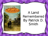A Land Remembered Chapter Questions
