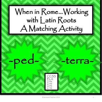 Latin Roots Matching