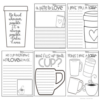 A Latte to Love Writing and Craft