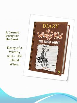 A Launch Party for the book Diary of a Wimpy Kid - The Third Wheel