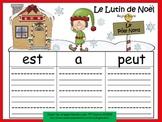 A+ Le Lutin de Noel: French Graphic Organizers
