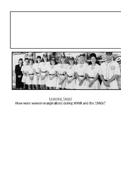 A League of Their Own Viewing Guide (History Through Film)