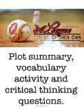 A League of Their Own plot summary