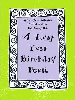 A Leap Year Birthday Poem