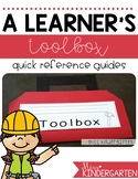 Writing Office Kindergarten {writer's toolbox}