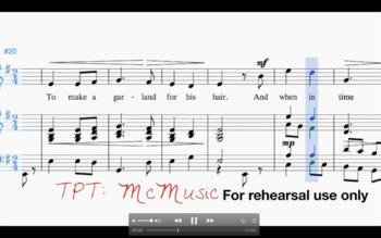 A Legend - WI Solo & Ensemble Practice Tracks