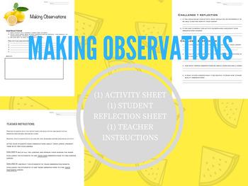 Making Observations