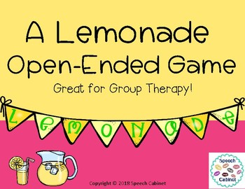A Lemonade Open-Ended Game