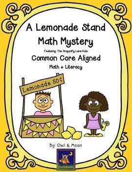A Lemonade Stand Math Mystery (2nd & 3rd Grade)