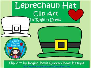 A+ Leprechaun Hat For St. Patrick's Day Clip Art
