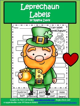 A+  Leprechaun Labels
