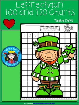 A+ Leprechaun: Numbers 100 and 120 Chart