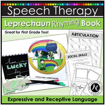 A Leprechaun Rhyming Book: Language Activities
