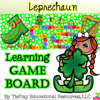 A Leprechaun's Life Speculation Learning Game Board
