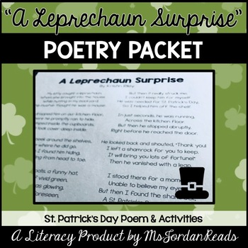 """A Leprechaun's Surprise!"" {St. Patrick's Day Poetry Packet}"