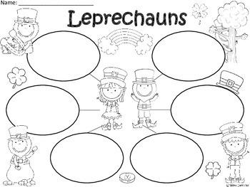 A+ Leprechauns... Three Graphic Organizers