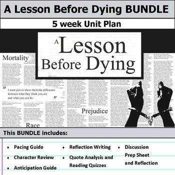 A lesson before dying essay help