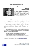 """A Lesson Plan Based on TED Talk by Jill Shargaa """"Awesome"""""""